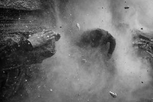 La instantánea tomada por el fotógrafo serbio de la agencia Reuters Goran Tomasevoc, obtuvo el primer premio en la categoría de Noticias de Actualidad.