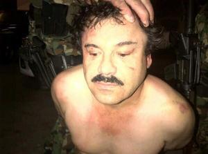 """Tras intensos operativos que duraron cerca de un mes, """"El Chapo"""" fue detenido en Mazatlán, gracias a un operativo conjunto entre la Marina mexicana y la DEA de Estados Unidos."""