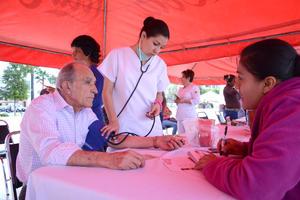 César del Bosque, jefe de la Jurisdicción Sanitaria Seis, dijo que estas acciones se realizan como parte del cierre del mes de la lucha contra el cáncer.