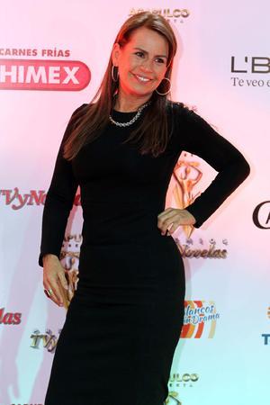 Leticia Perdigon acudió al evento celebrado en el Plaza Condesa.