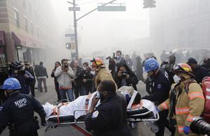 El alcalde de Nueva York confirmó que hay 18 lesionados y 2 personas perdieron la vida.