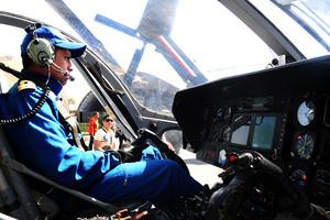 Intensa preparación. En la exposición estarán pilotos para explicar el funcionamiento de las aeronaves.