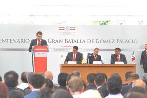 En el evento participó el alcalde de Gómez Palacio, José Miguel Campillo.