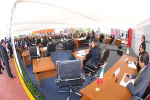 La sesión contó con la asistencia de 26 de los 30 diputados que conforman la actual Legislatura.