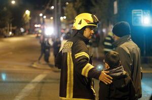Personal de Bomberos, el Ejército, las diferentes Policías, entre otras dependencias, apoyaron las tareas de evacuación.
