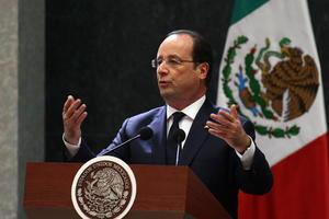 Durante la conferencia conjunta, el mandatario francés reconoció la labor del presidente Peña y los acuerdos alcanzados en materia de turismo, cultura.