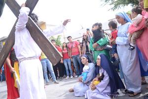 Los gomezpalatinos también conmemoraron uno de los días más sagrados para la Iglesia católica.