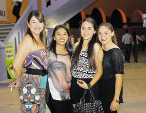 18042014 Sergio, Anhuar y Alejandro. Belinda, Gloria, Salma y Coco. Jaime con Hugo y Jaime. M