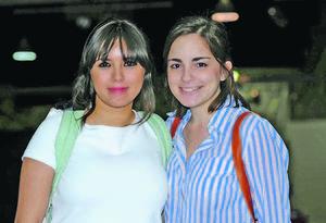 Cristina y Julia.