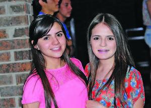 Mariana Trujillo y Mariana García.