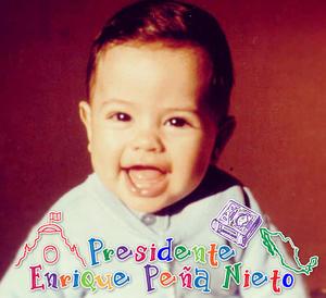 Así lucía el presidente Enrique Peña Nieto en su infancia.