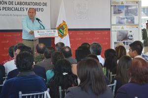 Moreira Valdez anunció también que se modernizará el edificio de la Procuraduría General de Justicia en el Estado y que habrá mejora salarial para los Ministerios Públicos.