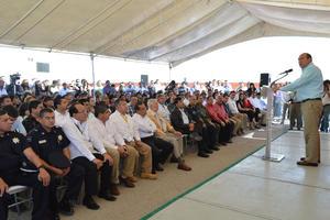 En su mensaje, Moreira destacó que representa un paso importante para fortalecer el nuevo sistema de justicia penal en Coahuila.