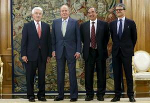 Pese al anuncio, el rey continuó con su agenda y se informó que se mantendrá la reunión que el monarca tiene programada con el gobierno mexicano.