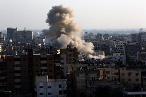 A más de 45 ascendieron este miércoles los muertos tras la ofensiva militar israelí sobre la Franja de Gaza.