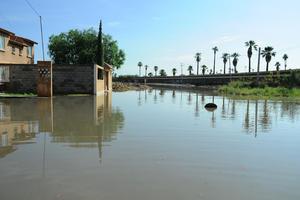 Residencial del Norte fue una de las zonas más afectadas por la tormenta.