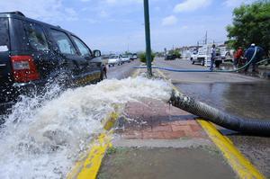 Nueve pozos de agua potable sufrieron fallas, así como tanques y cárcamos.