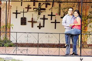 09082014 Nuevos esposos, Ing. José Carlos Ramírez Covarrubias e Ing. Jéssica Raquel Fonseca Gómez. - Benjamín Fotografía