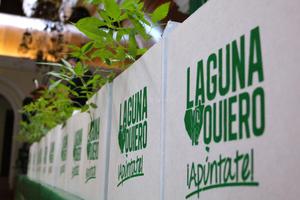 Laguna Yo Te Quiero arrancó oficialmente con su campaña de reforestación en la región.