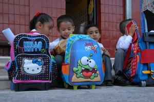 Son en total 547 mil los alumnos coahuilenses que volvieron o iniciaron una nueva etapa en las aulas.