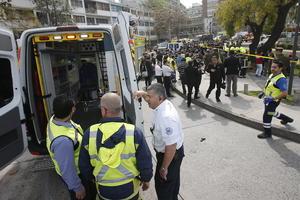 Los heridos fueron trasladados a diversos hospitales, informaron fuentes de los equipos de emergencia.