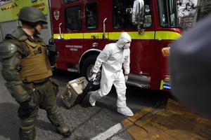 Ocho personas resultaron heridas en el atentado, dos de ellas de gravedad.