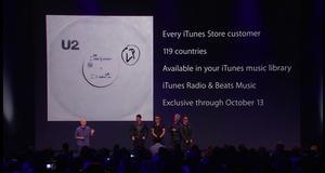 U2 anunció un nuevo álbum que podrá descargarse gratis en iTunes.