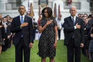 """Obama sostuvo que Estados Unidos sigue """"de pie y orgulloso"""" tras los ataques."""