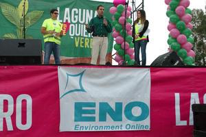 Ivan Gutiérrez, presidente de LYTQ dijo que la meta es superar la plantación de 25 mil árboles por medio de 200 brigadas.