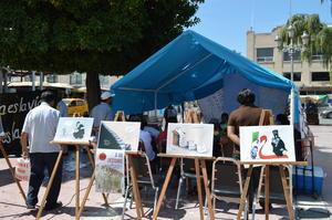 Por su parte, una delegación de Morena Coahuila realizó un evento de conmemoración del 46 aniversario de la masacre ocurrida en la plaza de Tlatelolco de la Ciudad de México.
