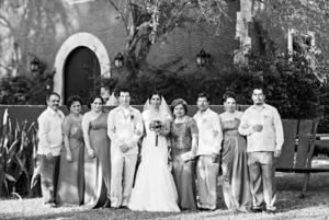 Roberto Trejo, Maruchy Dagdug, Diana Trejo, Mario Trejo, Fanny Lira, Lydia Gallegos, Eugenio Lira, Liliana Lira y Hugo Lira.