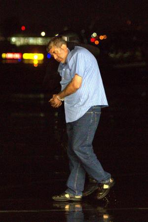 El presunto capo del narcotráfico se identificó con una licencia de conducir a nombre de Jorge Sánchez Mejía.
