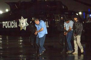"""El comisionado Nacional de Seguridad, Monte Alejandro Rubido, informó que fue detenido Vicente Carrillo Fuentes, alias """"el Viceroy"""", durante un operativo sin violencia  en Torreón, Coahuila."""