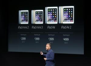 El iPad Air 2 se venderá desde 499 dólares. Apple también actualizará su iPad Mini, con un precio inicial de 399 dólares.