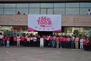 Se reunieron autoridades municipales, encabezadas por Ana Isabel Mexen de Campillo, presidenta del Sistema para el Desarrollo Integral de la Familia (DIF).