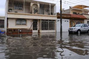 Tres colonias, según informa Alberto Porragas, titular de Protección Civil, resultaron con daños graves tras las lluvias.