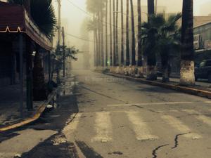Poco tráfico se pudo apreciar durante las primeras horas de este sábado en el Centro de Torreón,