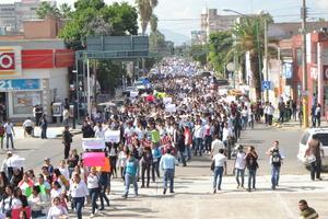 """""""Queremos hacer eco en esto, exigimos justicia"""", dijeron los presidentes de los Consejos Estudiantiles."""