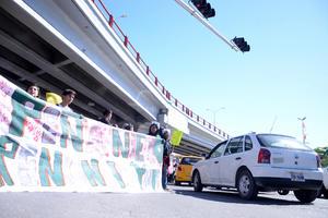 La marcha se desarrolló en el bulevar Revolución de la ciudad de Torreón.