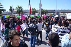 La convocatoria fue lanzada en redes sociales por el colectivo Resistencia Laguna.
