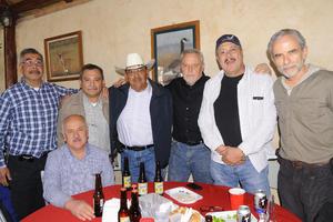 03122014 Roberto Ortiz, Javier Olague, Armando Fernández, Carlos Almaraz, José Navarro, Miguel Torres y Raúl Verano.
