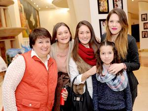 04122014 Carmen, Marcela, Alicia, Ana Carmen e Ileana.