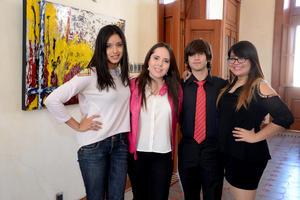 04122014 Guillermo, Lorena, Leonel y Rafa.