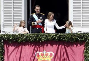 19 de junio | Rey. Tras la abdicación de Juan Carlos, su hijo asume como el rey Felipe VI de España.