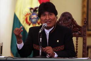 12 de octubre | Bolivia. Evo Morales logra la reelección en Bolivia durante las elecciones en el país andino.