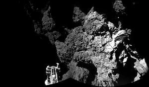 12 de noviembre | Sonda. Aterrizaje de la sonda Philae en el cometa 67P/Churiumov-Guerasimenko.
