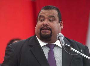 2 de abril | Gutiérrez. El dirigente del Partido Revolucionario Institucional (PRI) en el DF, Cuauhtémoc Gutiérrez de la Torre fue acusado de tener una red de prostitución en las oficinas del partido.