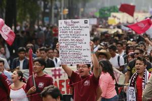 28 de setiembre | IPN. Inconformados por la propuesta de Reglamento Interno, inician protestas en el Politécnico Nacional que llevarían a un paro resuelto hasta principios de diciembre.