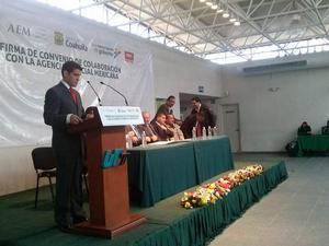 6 de febrero   Convenio. El Gobierno del Estado de Coahuila y la Agencia Espacial Mexicana firmaron un convenio de trabajo en las instalaciones de la Universidad Tecnológica de Torreón (UTT).