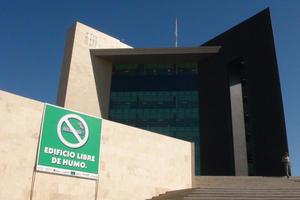 8 de abril   Certificación. La Secretaría de Salud en el Estado, certificó al nuevo edificio de la Presidencia Municipal como 100 por ciento libre de humo de tabaco.